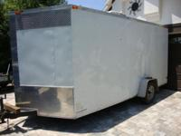 Hey this is a 2011 XTRATUFF TRAILER. 7 x 14 Single axle