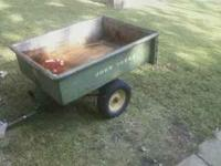 John Deere trailer for sale needs tires ... Asking $