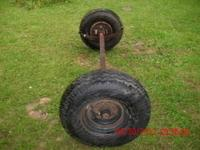 Got a heavy duty axle for a trailer . . It has 14.5