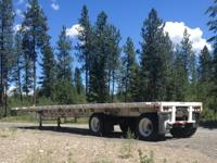 I have Transcraft 1985 Flatbed trailer for Semi Truck