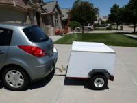 Trailer is ideal for taking your stuff on vacations,