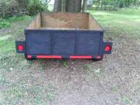 i have a pull behind trailer for sale. has good tires