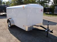 Confined Trailer 5 x 10 Low Profile! Will certainly