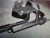Selling a used Trailer Hitch & ball for 1/2 to 3/4 ton