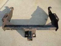 Trailer hitch from a 1994 Chevy 1500 pickup, 50.00 Call