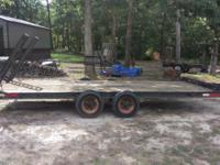 Hudson Trailer 4 Ton 18 Feet Brakes Dual Axle I will