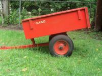 Lawn Mower Trailer and Leaf Sweeper for sale $175 obo