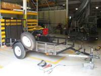 Trailer metal repairs and modification. Welding