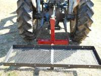 This is a trailer mover hitch with a 3 pt. hook-up for
