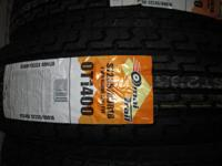 We have Omni trail heavy duty radial trailer tires on