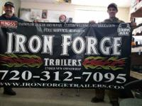 IRON FORGE is a Trailer repair and service shop. We