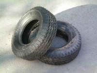 For Sale: (2) 4.10/6 Firestone high speed trailer tires