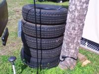 5 - Constancy trailer tires. ST225/75R/15 C-load.