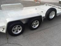 ALUMA 8200 Tandem Utility Trailers, 2008, Excellent