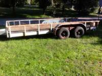 Very Nice 6 1/2 foot x 16 foot Trailer. Neck/Tongue