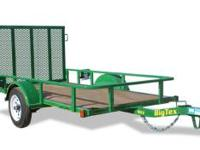 I have a BigTex trailer with rear gate. Size is 4x8,