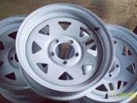 I have five trailer wheels five lug 5x4.5 lug pattern