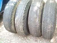 4-Used-Mobile Home Wheels & Tires 7-14.5---50.00 ----