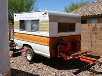 Trailer comes with 1800 watt generator, a/c d/c fridge,