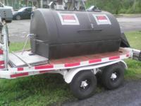 TRAILER WITH 500 GALLON OIL TANK CONVERTED TO PIG