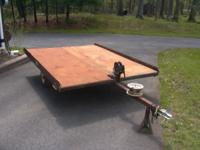 Ship Mate Tilt Trailer 6ft.-4in. wide & 8ft. long . Has