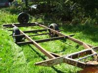 single axe trailer asking 500$ or best offer call for