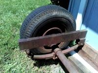 I have a trailer axle for sale, 50.00 or measurements
