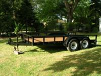 5 Ton Trailer dual axle painted in and out refurbished