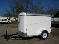 Almost Brand New 2013 5x8 Cargo Trailer. Only had a