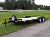 +I have for rent several 7,000 pound car trailers, i