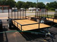 Trailers for sale. 5X10 utility $995.00, 6X10 utility