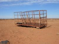 1 Cotton trailer @ $75.00 1 4 Wheel metal trailer