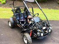 Trailmaster Mid XRX Gokart, just 10 hours of run time,