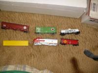 Hello. I have a train set with five cars and engine