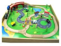 Barely used train table set...purchased few months ago