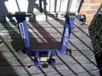 Minoura Magnetic 850 trainer. Got a new fluid so this