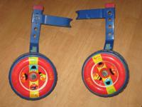 Sesame Street Training Wheels for child bike. 2.25