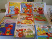 Lot 50 * SOLD * SOLD.      LOT 51 - Sesame Street Books