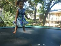 Bought this trampoline last year. Hardly utilized. We