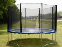 This 14 foot leisure trampoline is ideal for both