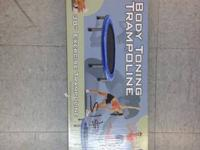 I got 2 brand new 38 inch exercise trampoline / body