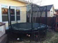 Hello there! Come and get this terrific trampoline!