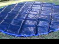 Brand new, never used. Fits 14 foot trampoline. $80