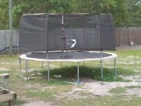 I have practically a brand new trampoline only been