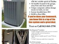 4-Ton XL 16i Heat Pump with TAM7 Variable Speed