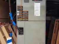 Trane Heat Pump & Air Conditioner-Like New This set was
