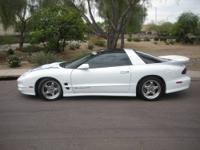 1995 Trans Am Black Convert. LT1 custom wheels,
