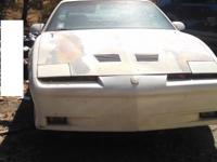 for sale 1988 trans am gta just needs a paint job a