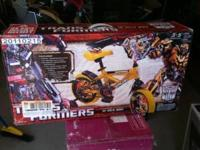 Brand new in box 12 inch bike. Transformer Bumble Bee