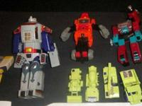 Transformers G1 Large Loose Assortment. Most all are